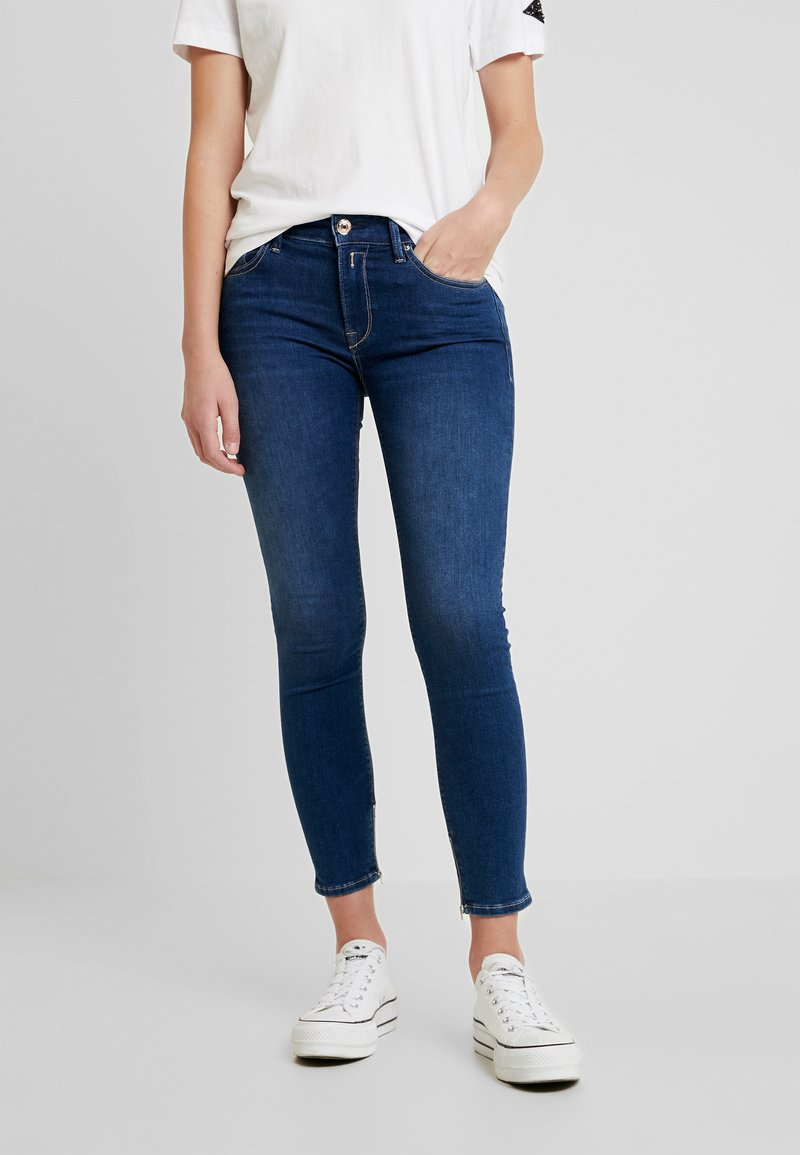 Replay - NEWLUZ ANKLEZIP - Jeans Skinny Fit - mediumblue