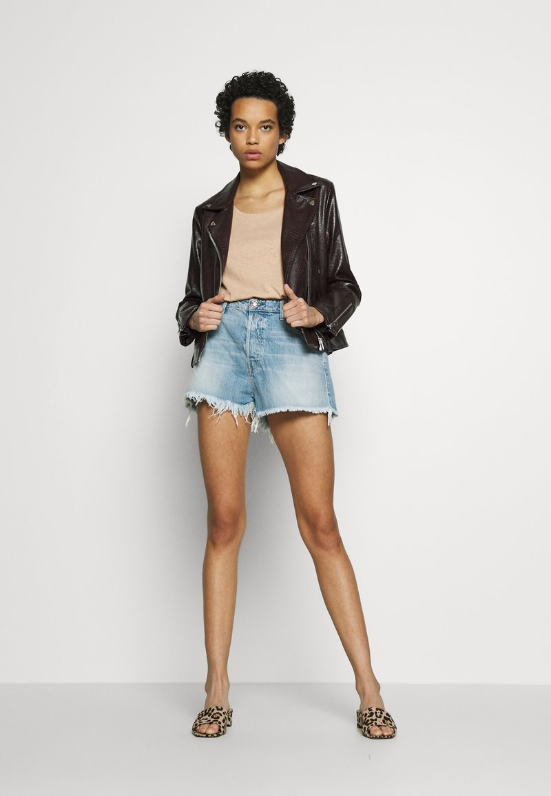 Replay Jeansshorts - light blue