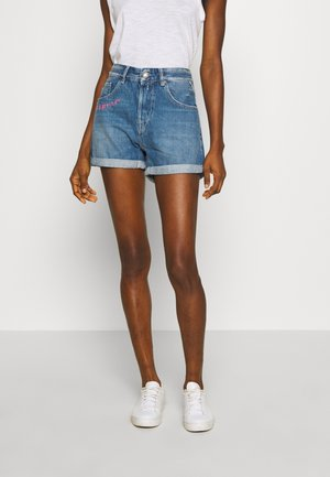 Shorts di jeans - light blue