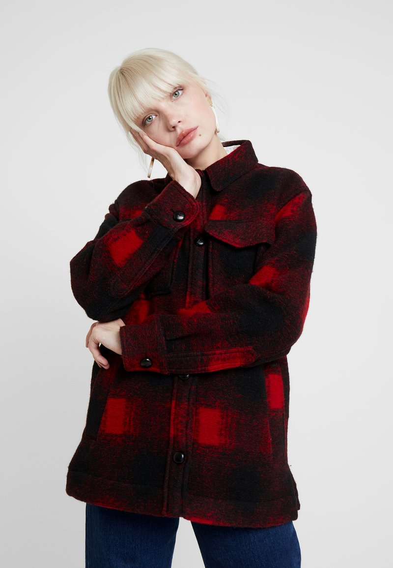 Replay - JACKET - Summer jacket - black/red