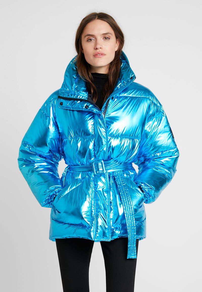 Replay - JACKET - Winter jacket - light blue metalized
