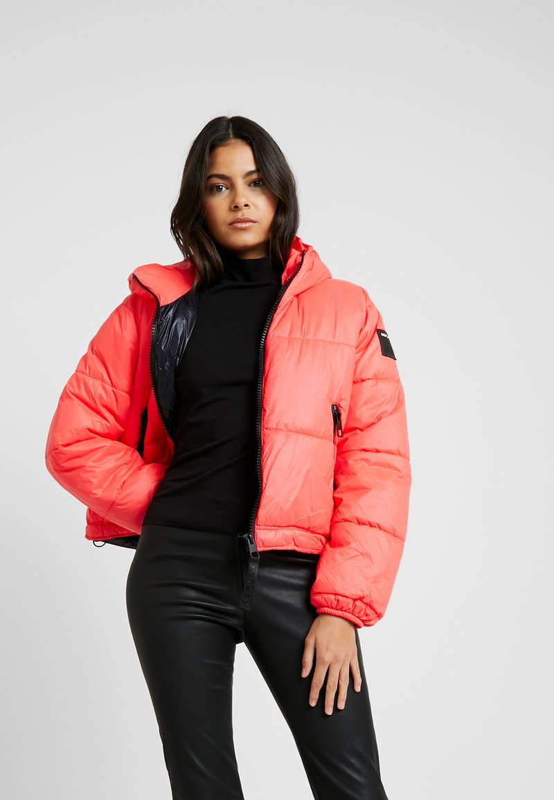 Replay - JACKET - Winter jacket - red fluo
