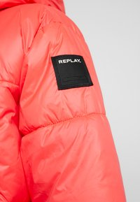 Replay - JACKET - Winter jacket - red fluo - 5