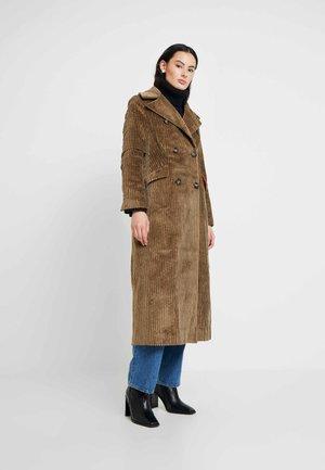 JACKET - Classic coat - hazelnut