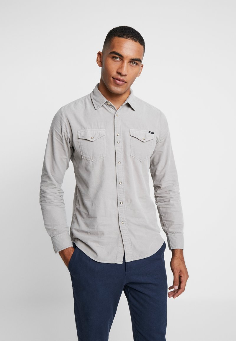 Replay - Shirt - stone grey