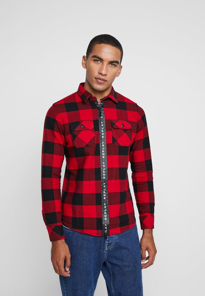 Replay - Camisa - red/black