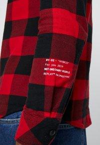 Replay - Skjorte - red/black - 5