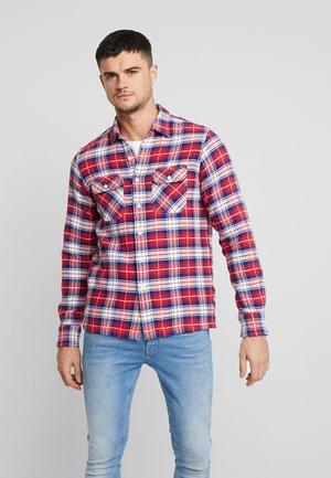 Skjorte - red/blue/white