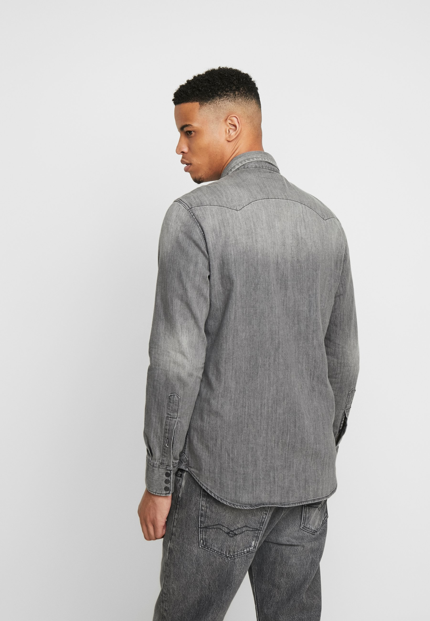 Replay Koszula - dark grey