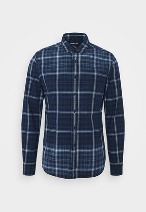 Camicia - dark blue/natural white