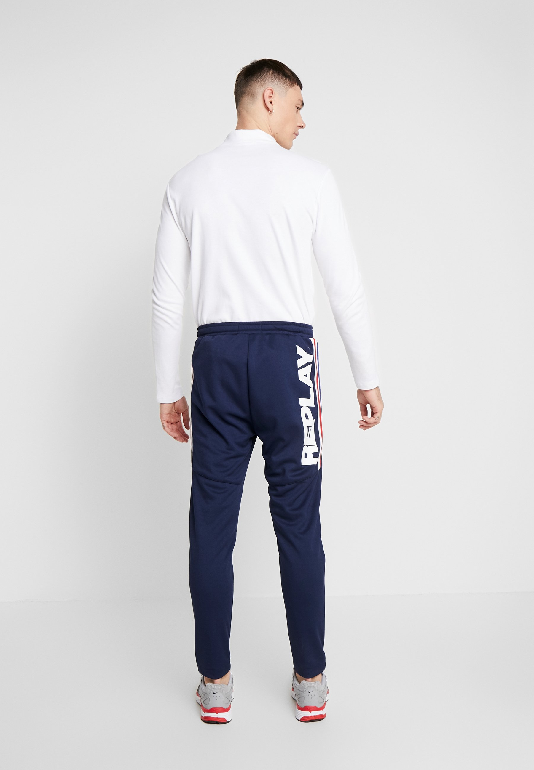 Replay Spodnie treningowe - space blue