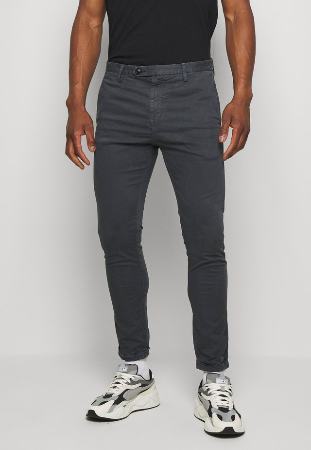 Trousers - charcoal