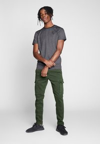 Replay - JAAN HYPERFLEX - Cargo trousers - hunter green - 1