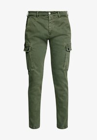 Replay - JAAN HYPERFLEX - Cargo trousers - hunter green - 4