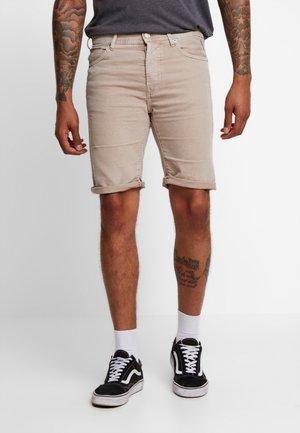 STRETCH BULL  - Denim shorts - sand