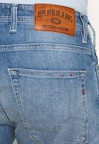 Replay - Jeans Shorts - blue denim - 6