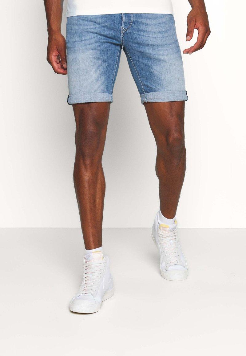 Replay - Jeans Shorts - blue denim
