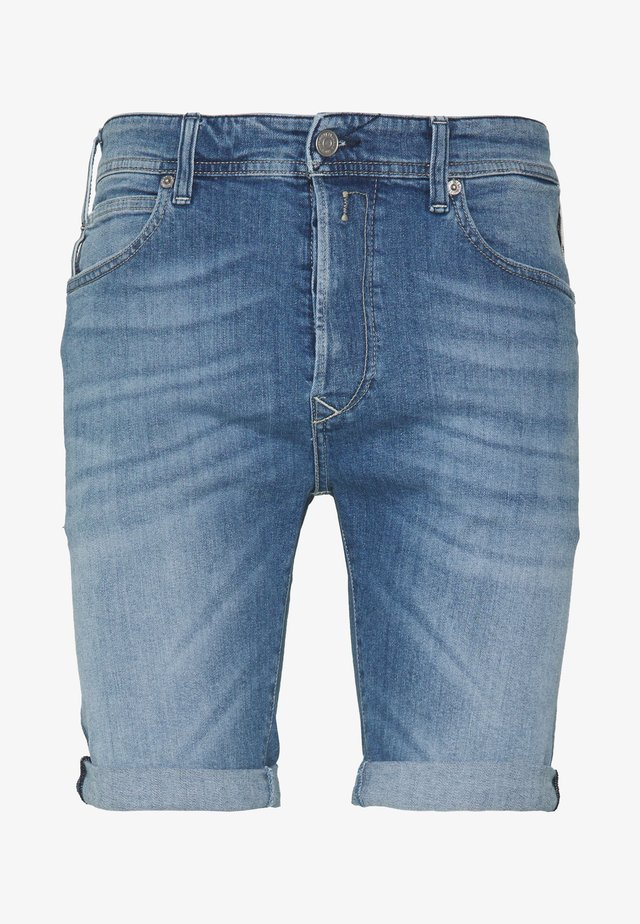 Jeans Short / cowboy shorts - blue denim