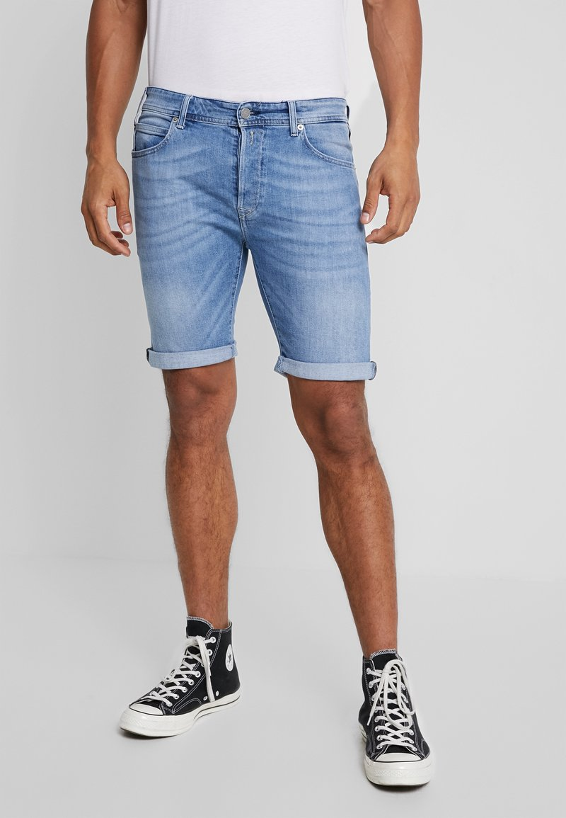 Replay - Jeans Shorts - light blue