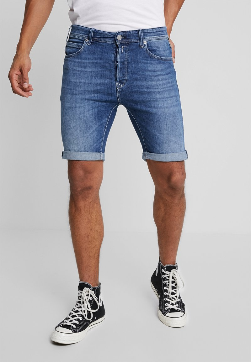 Replay - MA981 - Denim shorts - midblue