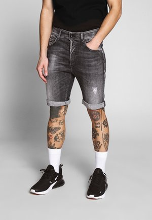 Shorts di jeans - dark grey