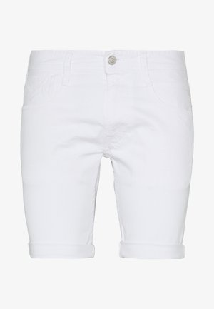 ANBASS SHORT - Denim shorts - white