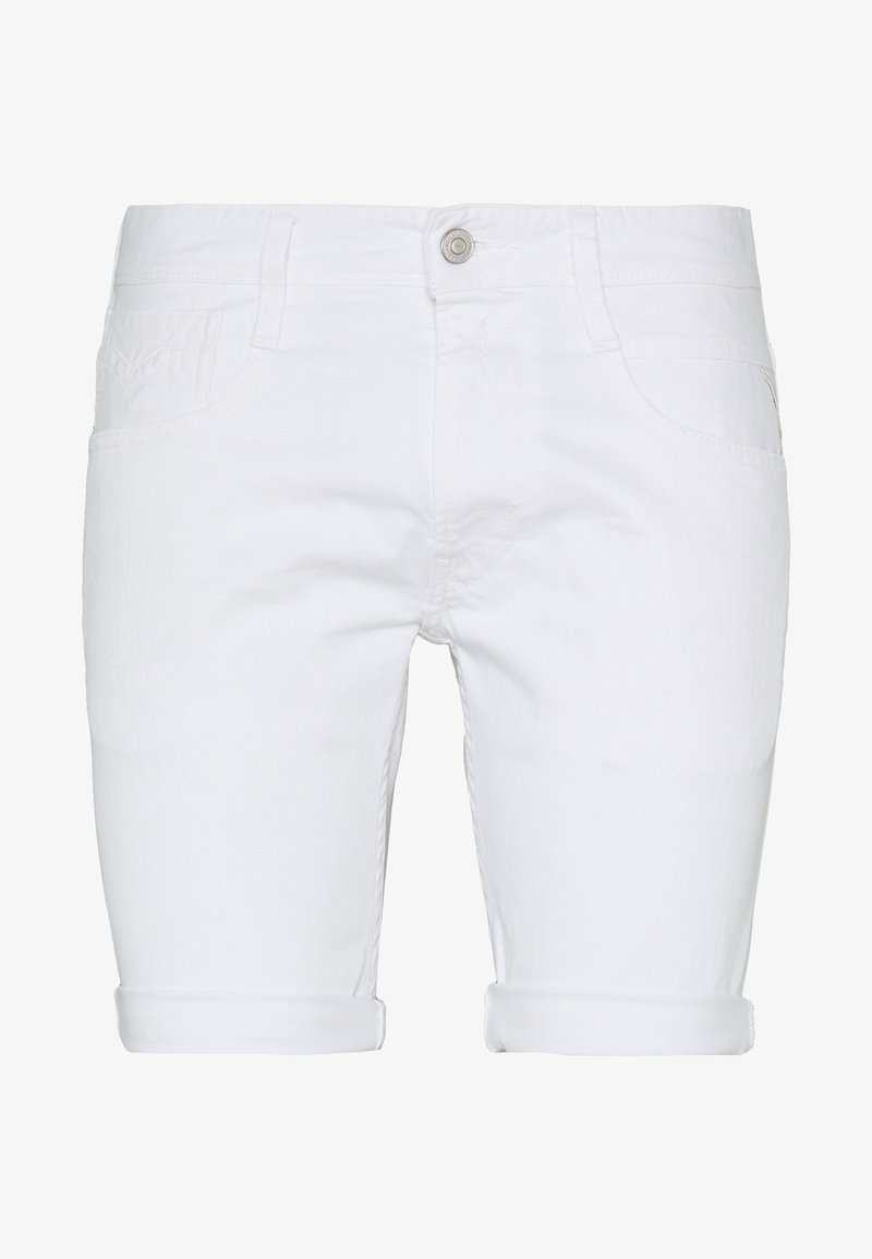 Replay - ANBASS SHORT - Jeansshorts - white