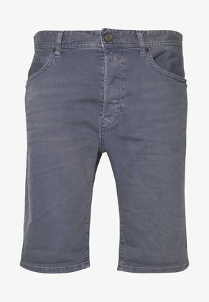 Denim shorts - stone blue