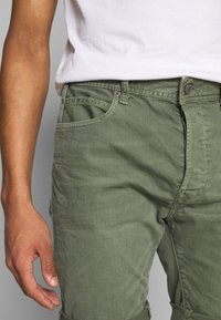 Replay - Denim shorts - olive green - 5