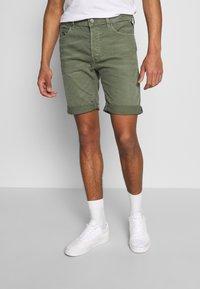 Replay - Denim shorts - olive green - 0