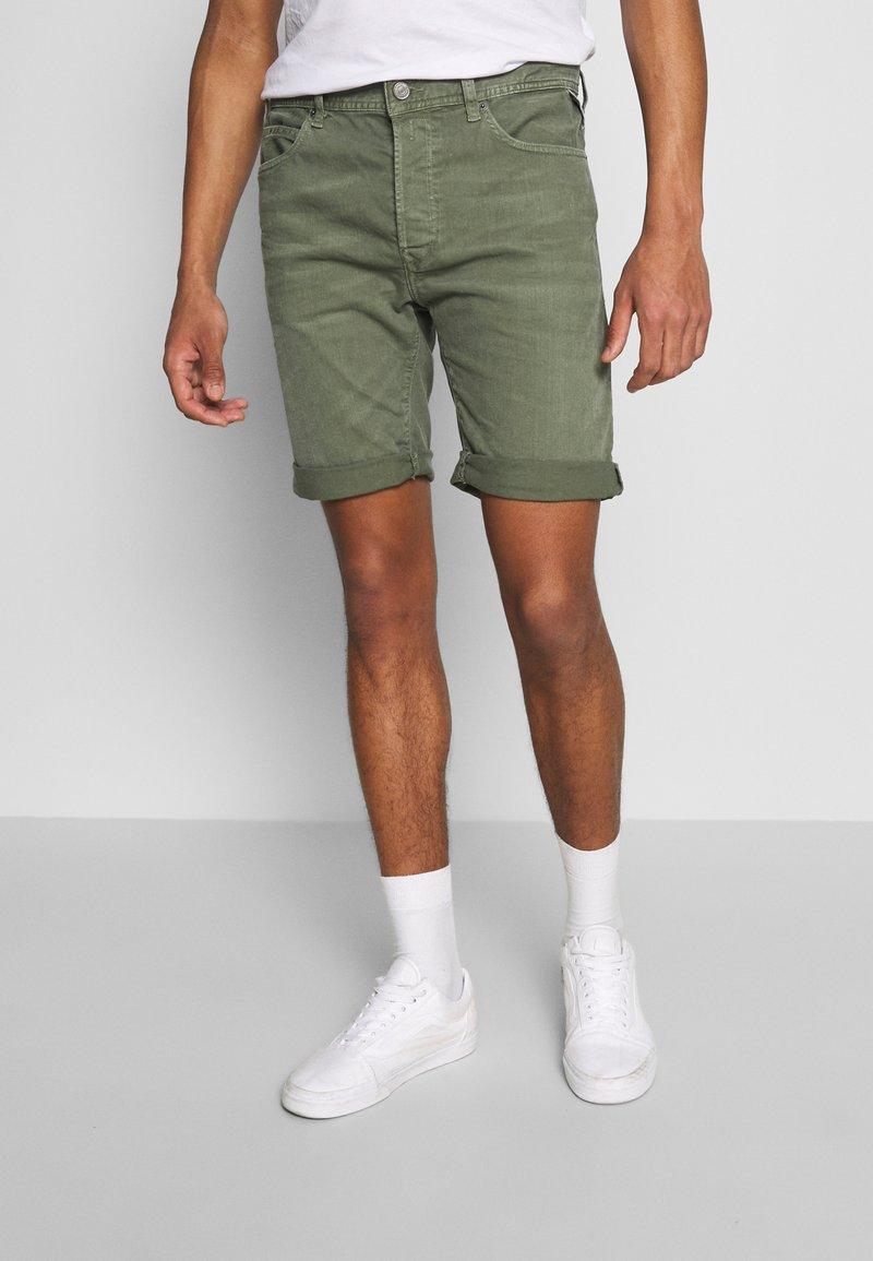 Replay - Denim shorts - olive green