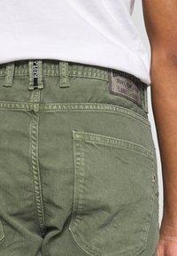 Replay - Denim shorts - olive green - 3