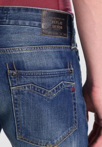 Replay - NEWBILL - Straight leg jeans - blau - 4