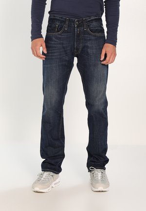 NEWBILL - Straight leg jeans - dark-blue