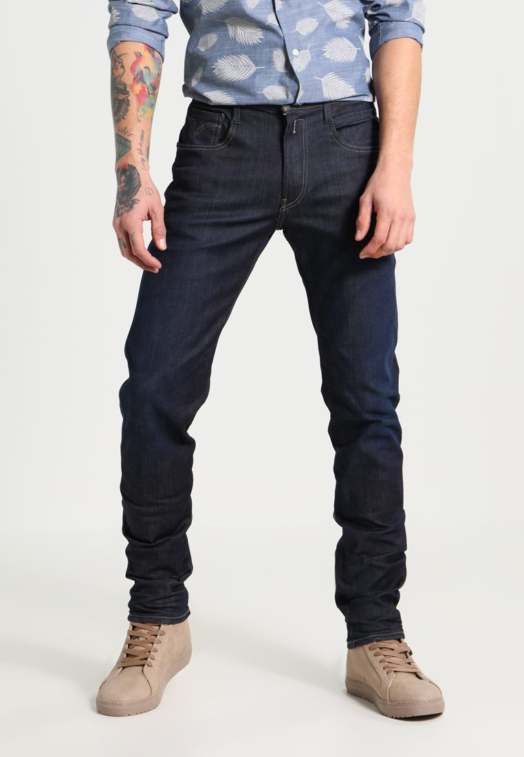 Replay - HYPERFLEX ANBASS - Jeans Slim Fit - blau