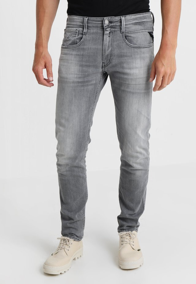 ANBASS - Slim fit jeans - grey denim
