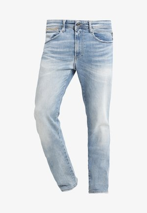ANBASS COIN ZIP - Jeans slim fit - light blue
