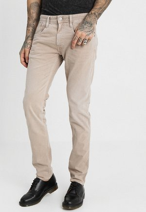 ANBASS - Jeans slim fit - sand