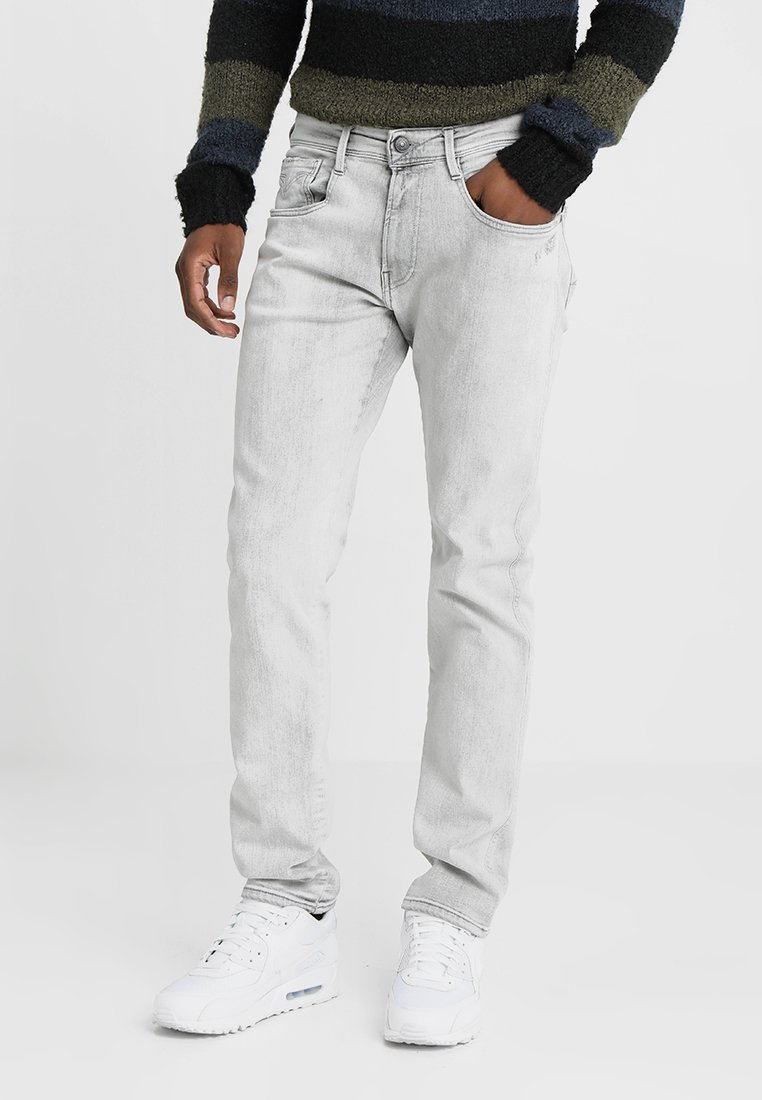 Replay - ANBASS - Jeans Straight Leg - grey