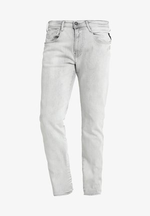 ANBASS - Jeans straight leg - grey