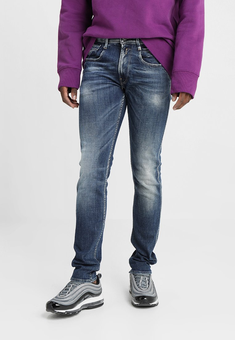 Replay - ANBASS - Jeans Slim Fit - dark blue