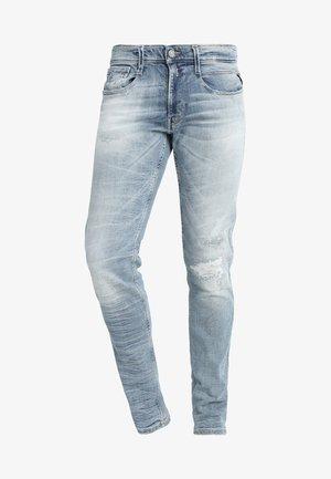 ANBASS - Vaqueros slim fit - super light blue