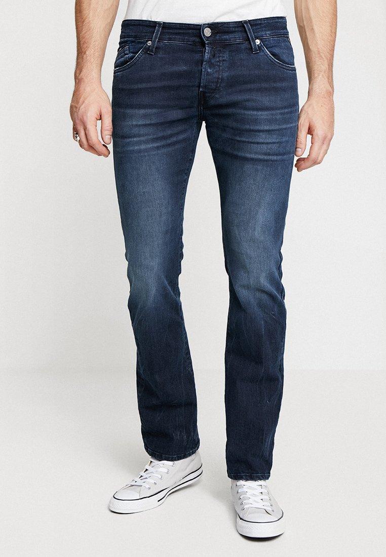Replay - NEW JIMI - Bootcut jeans - dark blue denim
