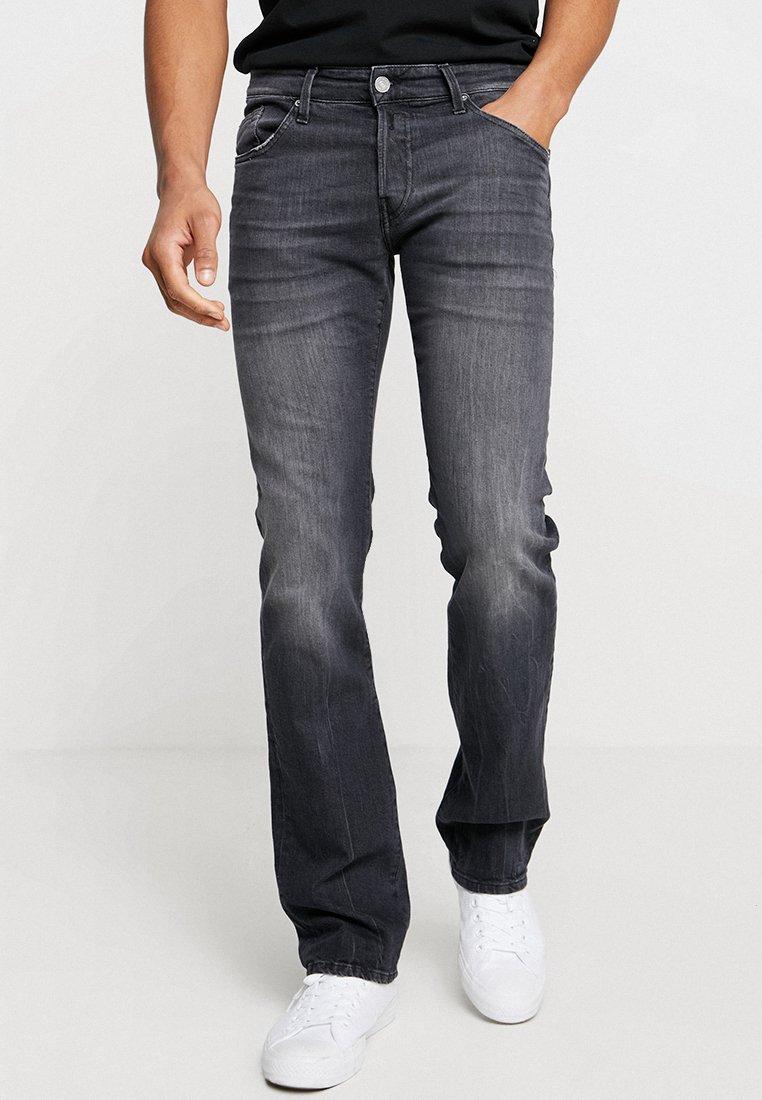Replay - NEW JIMI - Jeans Bootcut - black denim