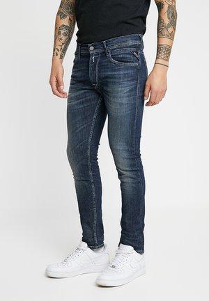 JONDRILL - Slim fit -farkut - dark blue