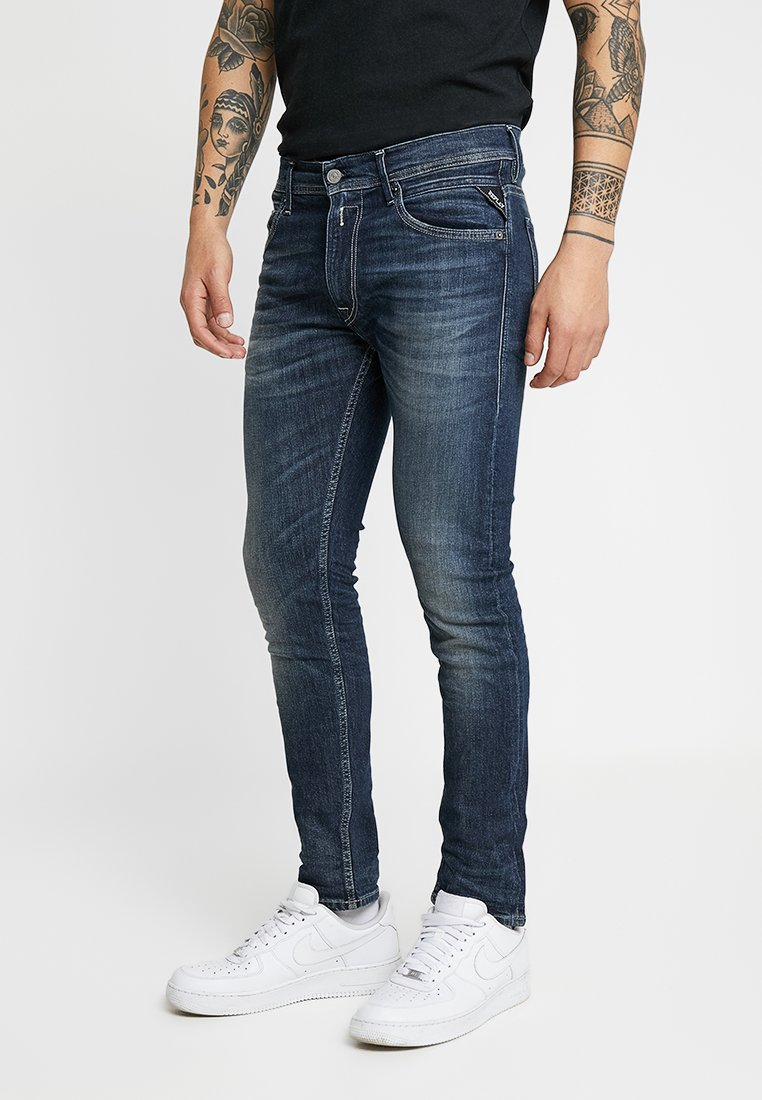 Replay - JONDRILL - Jeans slim fit - dark blue