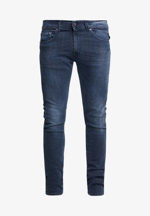 JONDRILL - Skinny-Farkut - medium blue
