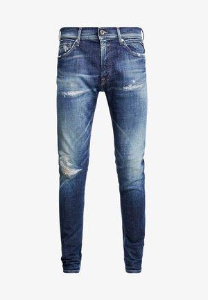 JONDRILL - Slim fit -farkut - medium blue