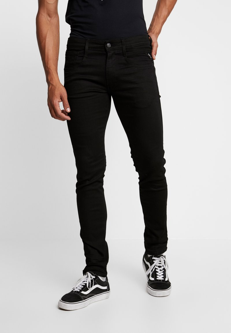 Replay - ANBASS - Slim fit jeans - black
