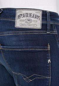 Replay - ANBASS - Slim fit jeans - dark blue - 3
